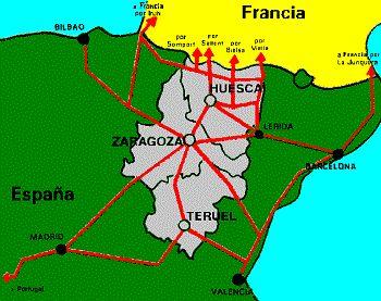 Provincia De Teruel Mapa.Mapa De La Provincia De Teruel Dentro De Aragon Mapas En