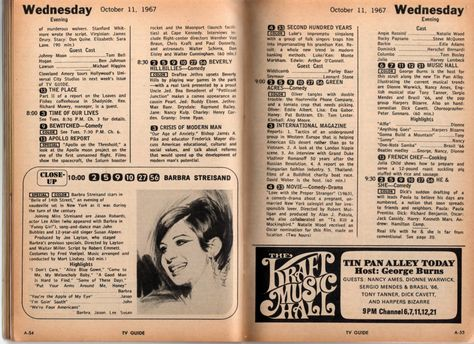 1967 TV Guide | Johnstown/Altoona TV Guide - 1967