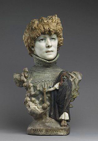Jean-Léon Gérôme, Bust of Sarah Bernhardt, c.