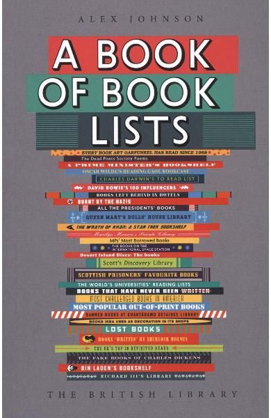 This Is A Book Of Book Lists Not Of The 1 001 Books You Must