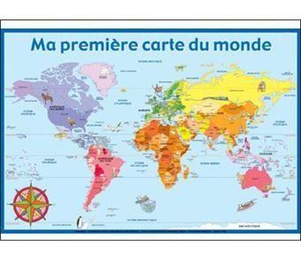 carte du monde 2020 Ateliers culturels: 2019 2020: notre Monde, notre Continent, notre