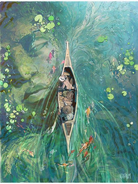 photography and illustration Fantasy Landscape, Fantasy Art, Fantasy Concept Art, Landscape Art, Watercolor Art Landscape, Fantasy Posters, Fantasy Kunst, Fantasy Paintings, Anime Fantasy
