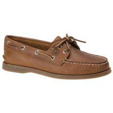 A pair of boat shoes. There are a few different companies that make boat  shoes