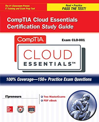 Comptia Cloud Certification Study Guide Pin On Books