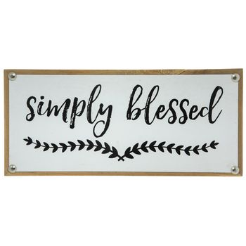 Simply Blessed Wood Wall Decor Wood Wall Decor Wall Decor Online Wood Wall