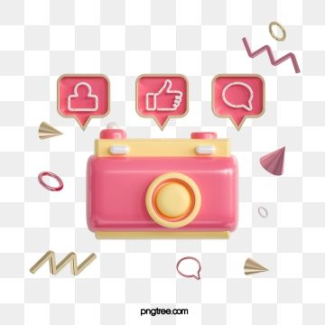 3d Pink Cartoon Like Social Information Icon Marketing 3d Gesture Png Transparent Clipart Image And Psd File For Free Download In 2021 Print Design Template Celebration Balloons Happy Birthday Art