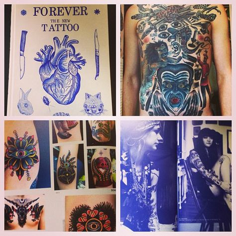 Forever The New Tattoo Is The Perfect Coffee Table Book It S