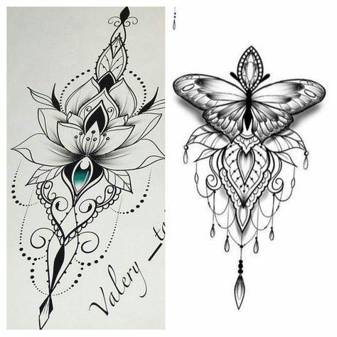 Best 10 Desenhos para tatuagem de flor de lótus – 30 modelos – Portal Dicas – SkillOfKing.Com