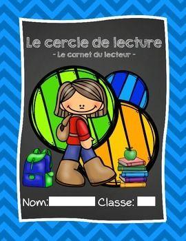 French Literature Circle Booklet - Cercle de lecture (carnet du lecteur)