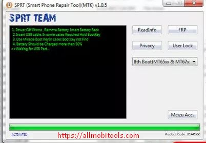 Download MTK FRP Unlock/Bypass/Remove/Reset Tool Latest Version