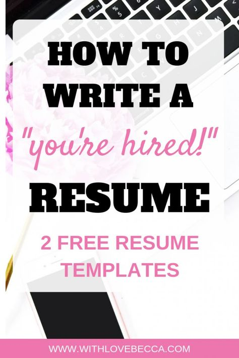 """How to Write a Winning Resume: Take Your Resume from """"Meh"""" to """"We Need to Meet Her!"""" (Free Resume Te"""