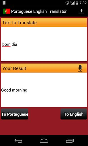 English Portuguese Translator Support For Audio Translation Too Learn Pronunciation And Speak Language Wi
