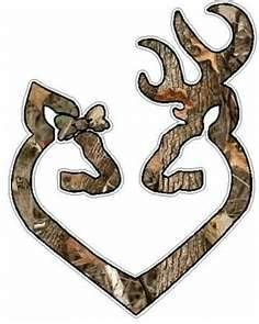 """Browning Heart - I need this as a printable with """"Roberts Family"""" underneath...my hubby would love it!"""