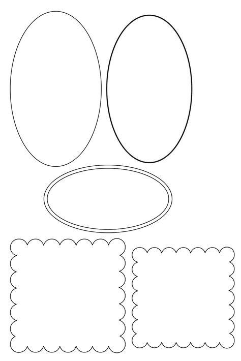 Шаблон макет для открытки, анимация