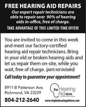 Vintage Hearing Aid Ads