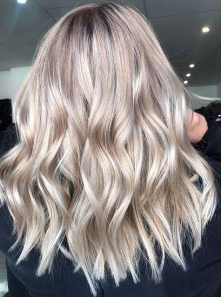 65 Ideas Hair Color Medium Length Summer Champagne Hair Color Fall Hair Color Trends Champagne Hair