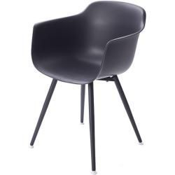 Armlehn Stuhl Alba Grau 80x57x52 Cm In 2020 Work Chair Armchair Comfortable Armchair