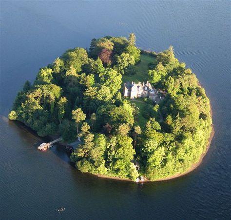 Derwent Isle, Derwent Water, Lake District