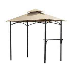 Garden Winds Replacement Canopy Top For Grill Gazebo Model L