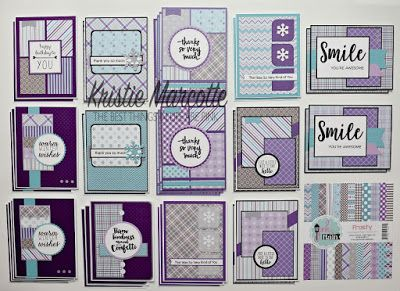 The Best Things In Life Are Pink Pink Main S Frosty Collection 36 Cards From One 6x6 Paper Pad Card Sketches Templates Card Sketches Card Patterns