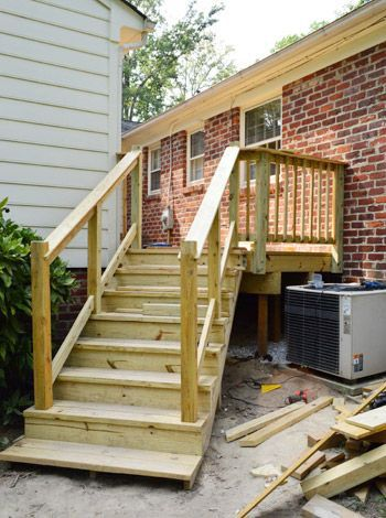 Outdoor Stair Railing Ideas Outdoor Stair Railing Outdoor Stairs Building A Deck