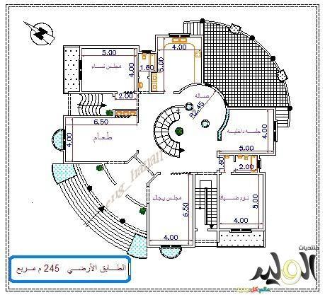 اجمل تصاميم فلل دورين داخل وخارج انيقة وجديدة 2017 تصاميم معمارية الوليد My House Plans Classic House Design Luxury House Plans