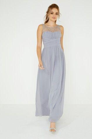 Little Mistress Beaded Top Maxi Dress Top Maxi Dresses Maxi Dress Evening Ball Dresses