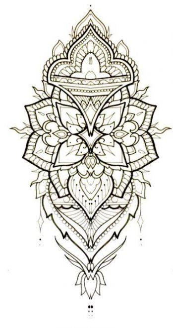 Tattoo Mandala Dotwork Ink 53 Ideas Tattoo Mandala Tattoo