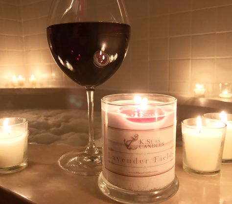 bubblebath A little vino and a soothing...