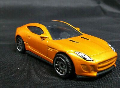 Matchbox 15 Jaguar F Type Coupe Mb975 Orange Car 1 64 Jaguar F Type Orange Car Diecast Cars