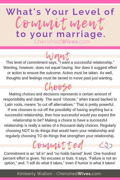 What is Your Level of Commitment? Understanding the THREE levels of commitment and how they shape the level of success in life, love and marriage. #marriagesuccess #CherishedWives #committedtomarriage