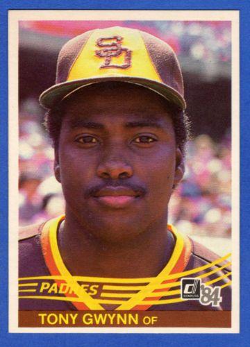 1984 Donruss Baseball Tony Gwynn Card 324 Hof Outfielder San Diego
