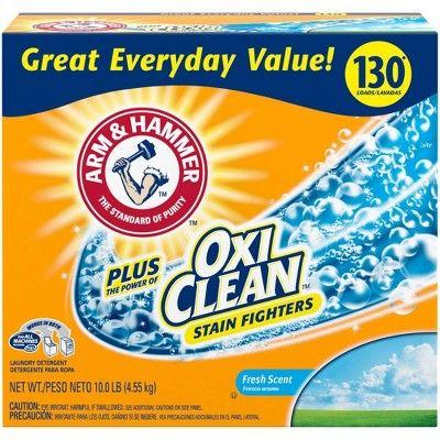 Arm Hammer Plus Oxiclean Fresh Scent Laundry Detergent Powder
