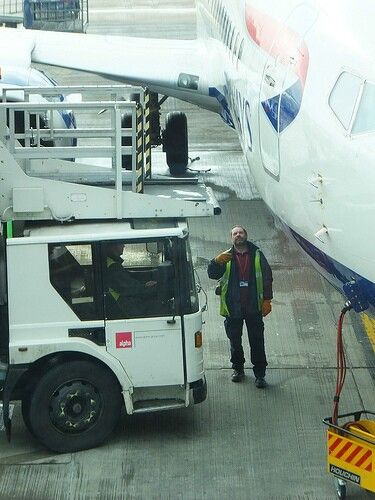 Marshalling in the Catering Truck Vehicles in the airport - airport ramp agent sample resume