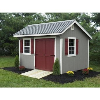 Union Corrugating 2 16 Ft X 8 Ft Corrugated Silver Steel Roof Panel Lowes Com In 2020 Building A Shed Backyard Sheds Wood Shed Plans