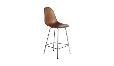 Enjoyable Eames Molded Wood Counter Stool Dwhcx Eames Molded Beatyapartments Chair Design Images Beatyapartmentscom