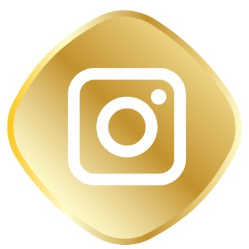Golden Instagram Icon Png And Vector Icones De Midia Social Icones Redes Sociais Icones Sociais