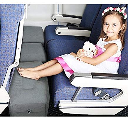 Travel Foot Rest Pillow, Inflatable Air