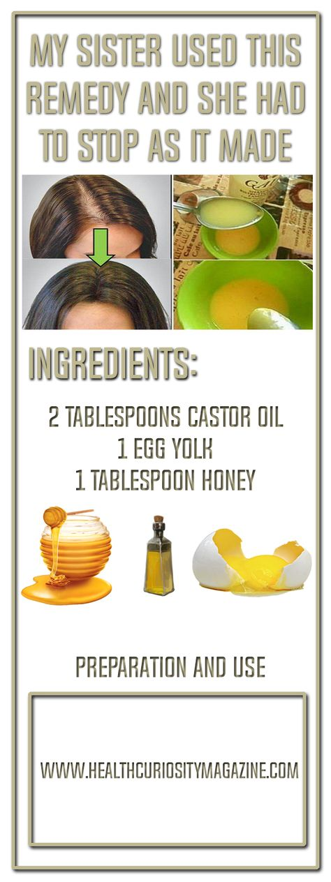 My Sister Used This Remedy And She Had To Stop As It Made Her Hair Grow Like Crazy