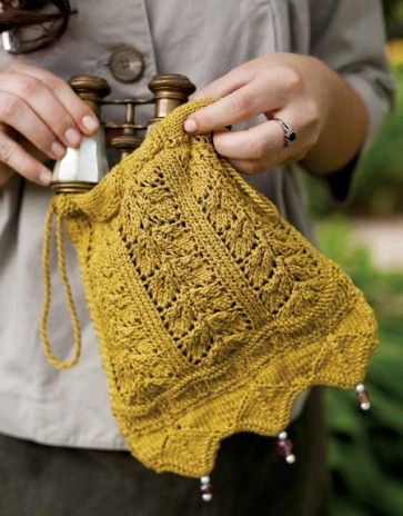 Netherfied Evening Bag Knitting Pattern Download