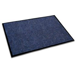 Doortex Ribmat Indoor Entrance Mat Blue Rectangular Size 24 X 36 2 X 3 Indoor Door Mats Entrance Chair Mats