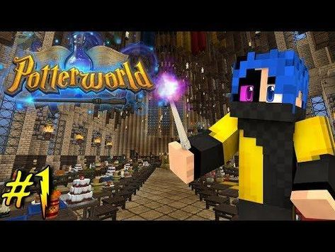 Welcome To Hogwarts The School Of Magic Potterworld Minecraft Harry Potter Server Ep 1 Welcome To Hogwarts Hogwarts Minecraft