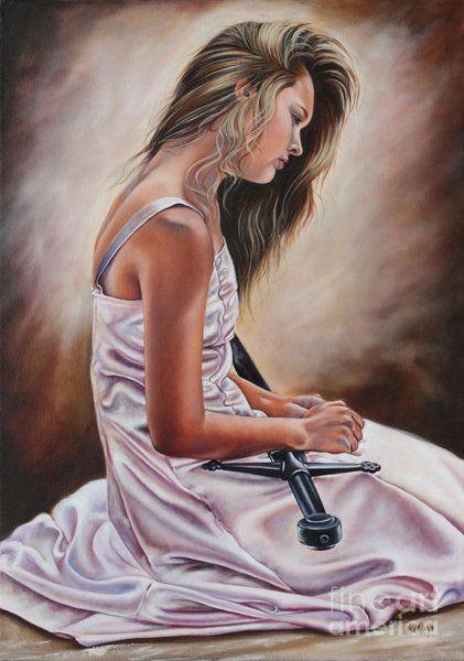Prophetic Painting - Rebecca by Ilse Kleyn | Prophetic  art, Bride of christ, Prophetic painting