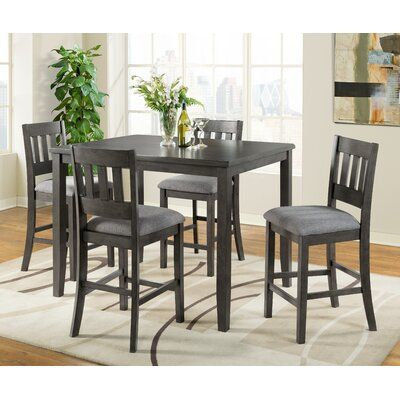 Darby Home Co Shorehamby 5 Piece Pub Table Set Pub Table Sets Dining Room Sets Table