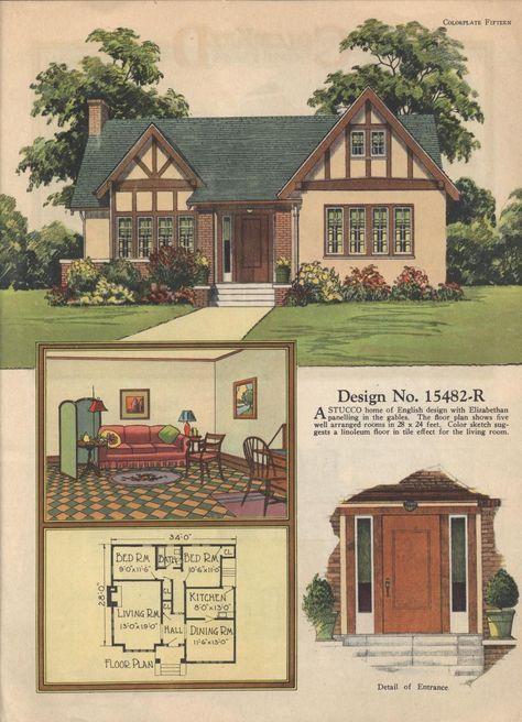 Super House Old Style Floor Plans Ideas Vintage House Plans Cottage House Plans House Plans