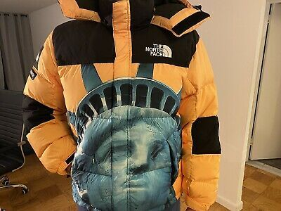 Ad Ebay Url Supreme The North Face Statue Of Liberty Baltoro Jacket Yellow In 2020 The North Face Black And White Tees Jackets