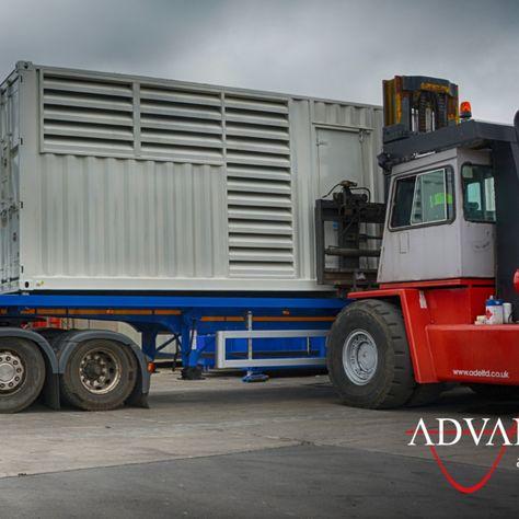 1100 kVA Silent Containerised Diesel Generator Solution