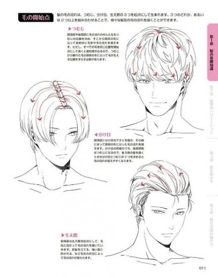 31 Ideas Hair Drawing Reference Guy For 2019 How To Draw Anime Hair Drawing Male Hair Manga Hair