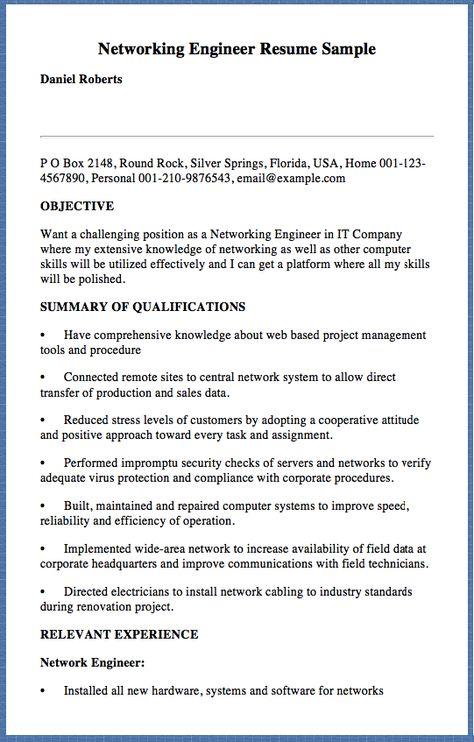Sample Program Coordinator Resume Atleth Flames 1985 Ticonderoga - network engineer student resume