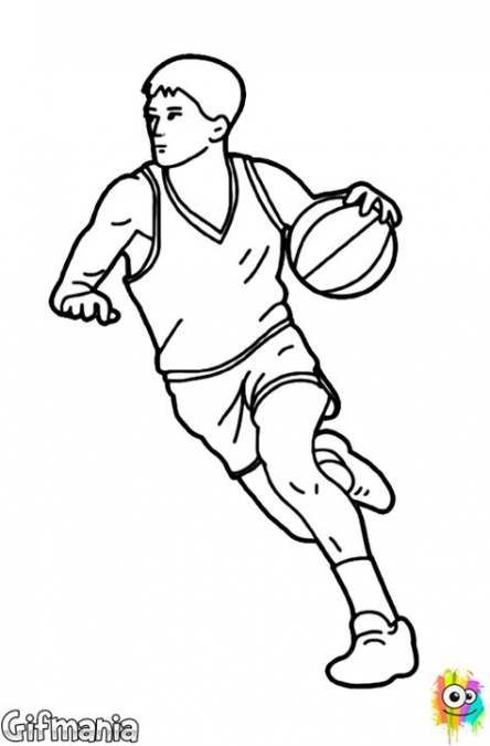 Basket Ball Players Reference 15 Ideas Basketball Drawings Drawings Coloring Pages